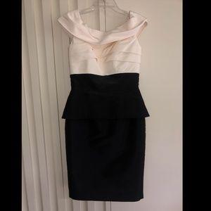 Frascara Collection Black & White Dress - Size 8